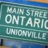 Main Street Ontario: Unionville