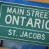 Main Street Ontario: St. Jacobs
