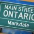 Main Street Ontario: Markdale
