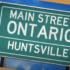 Main Street Ontario: Huntsville